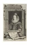 Portrait of Elizabeth Stuart  Queen of Bohemia
