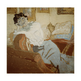 Madame Hessel on the Sofa  1900