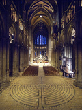 Labyrinth  Chartres Cathedral  France