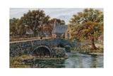 Llanystrumwdy Bridge  Nr Criccieth