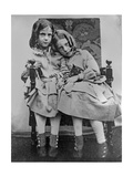Portrait of Two Young Girls  C1853