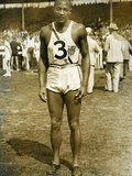 Jesse Owens at the Berlin Olympics  1936