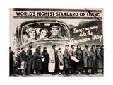 World's Highest Standard of Living'  1937