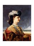 Portrait of Countess Karoly  1865