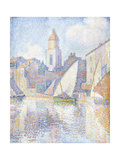 Bell Tower at Saint Tropez  1896