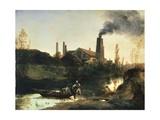 Eberswald Mill  Circa 1830