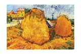 Haystacks in Provence  1888