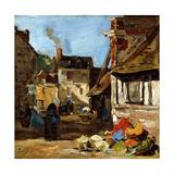 Honfleur  Saint-Catherine Market Place  1867-1870