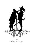 Sir Hugh Evans and Pistol