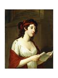 Portrait of a Lady as Sappho