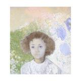 Portrait of Genevieve De Gonet as a Child  1907