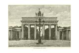 The Brandenburg Gate  Berlin  1870
