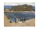 The Bathing Pool  North Berwick  1919