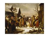 Louis XVI Giving Alms
