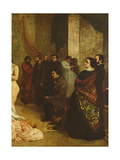 The Studio of the Painter  a Real Allegory  1855