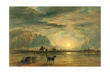 Beach Scene - Sunrise  C1820