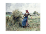 Peasant and Hay