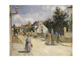 Road in Pontoise  1879