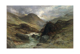 Gorge in the Mountains  1878