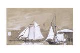 Two Schooners  1880