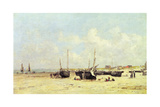 The Beach at Low Tide  Berck  1890-97