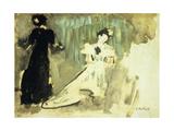 Two Women; Deux Femmes  C1905