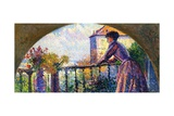 The Artist's Wife  Rue Cortot  Paris  1893