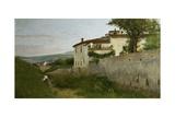 View of Piagentina  1863