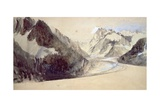 Mer De Glace  Chamonix  1849