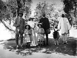 British Family and Servant in India  C1907-8