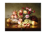 Fruit Still-Life with Roses and Honeycomb  1904