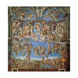 The Last Judgement  Sistine Chapel 1534-41
