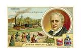 First Locomotive by Stephenson