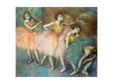 Danseuses Vertes Et Jaunes  C1903