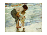 On the Beach  1908