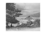 Summer Scene on the Middle Lake Killarney  1860S