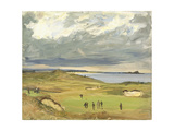 The Golf Links  North Berwick  1919