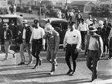 Al Capone under Arrest in Miami Beach  May 1930