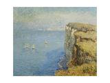 Cliffs in Normandy; Falaises En Normandie  1901