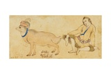 Study of a Young Man and a Ram  1630-31 or Later