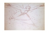 Angel Walking  Drawing