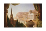 The Architect's Dream  Painting by Thomas Cole