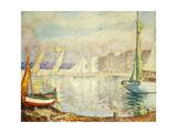 Le Port De Saint Tropez  1906