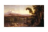 Ecuadorian Landscape  1877