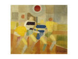 The Runners on Foot, C.1920 Giclée par Robert Delaunay