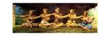 Siva Dance with 5 Dancers  Vaiala  Samoa  1890
