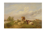 On Canterbury Meadows  1861