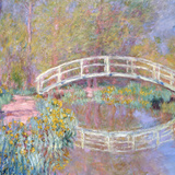 Bridge in Monet's Garden  1895-96