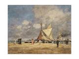 On the Pier  Deauville  1889