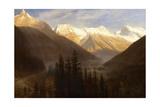 Sunrise from Glacier Station  C1890